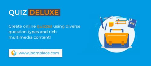 افزونه ایجاد آزمون آنلاین در جوملا Joomla Quiz Deluxe