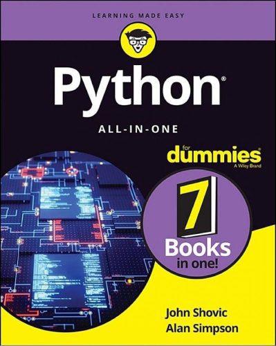 دانلود کتاب Python All-in-One For Dummies