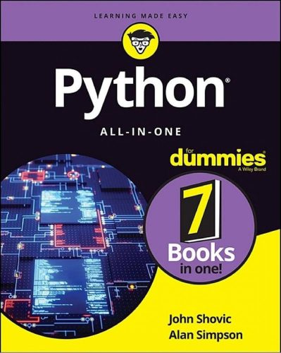 دانلود کتاب Python All-in-One For Dummies