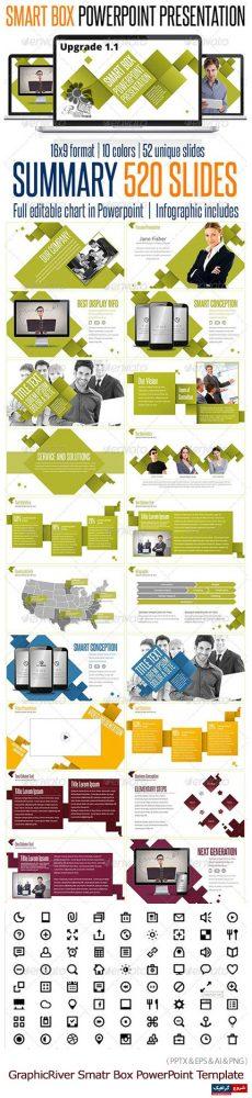 دانلود مجموعه قالب های آماده تجاری پاورپوینت از گرافیک ریور