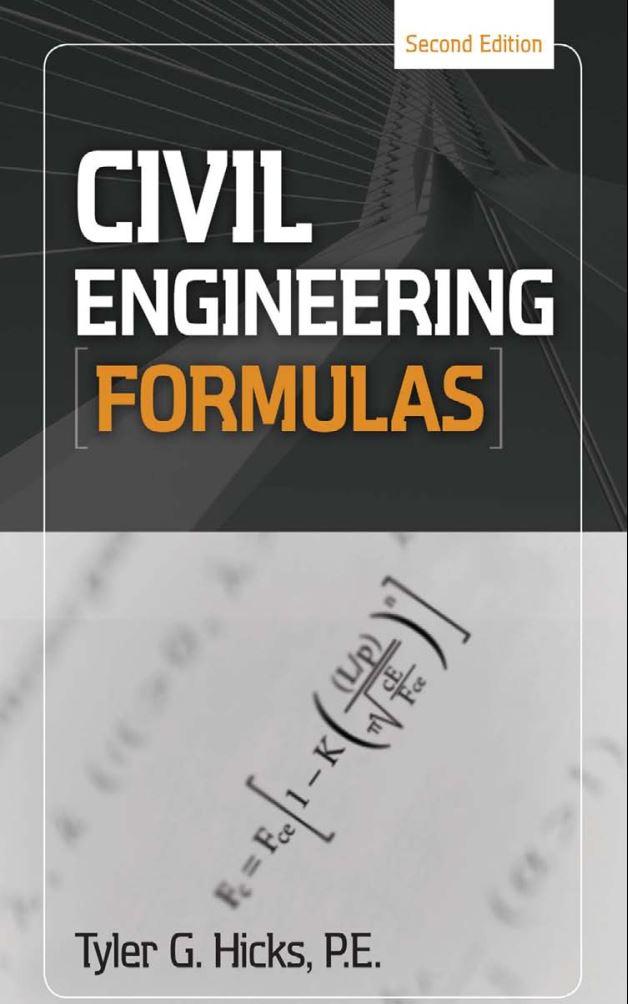 دانلود کتاب تمامی فرمول های مهندسی عمران