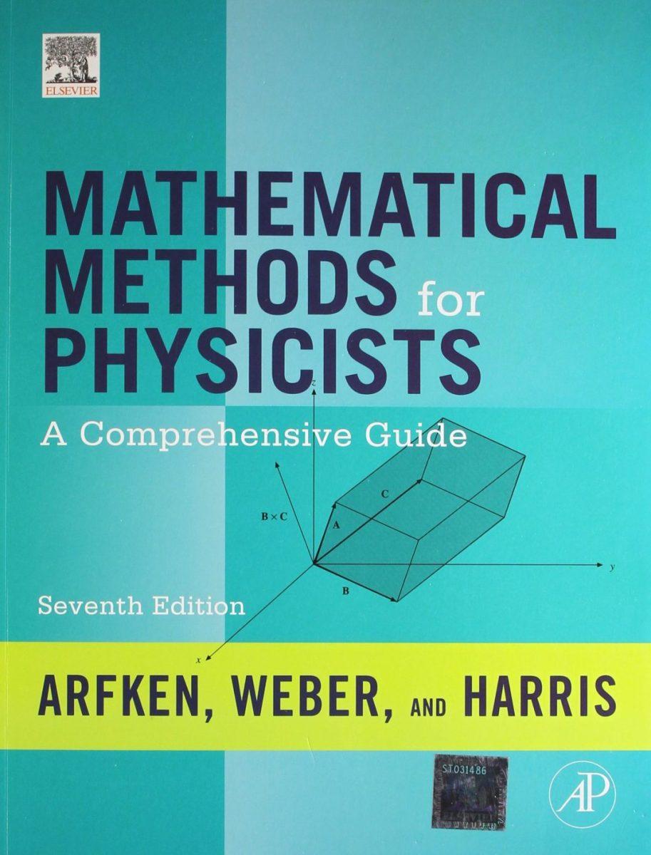 دانلود حل المسائل و کتاب روشهای ریاضی در فیزیک آرفکن ویرایش 7