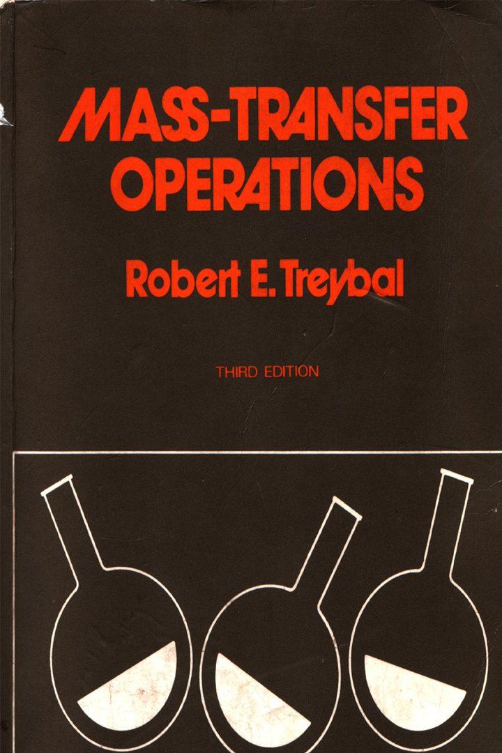 کتاب حل المسائل انتقال جرم تریبال Treybal