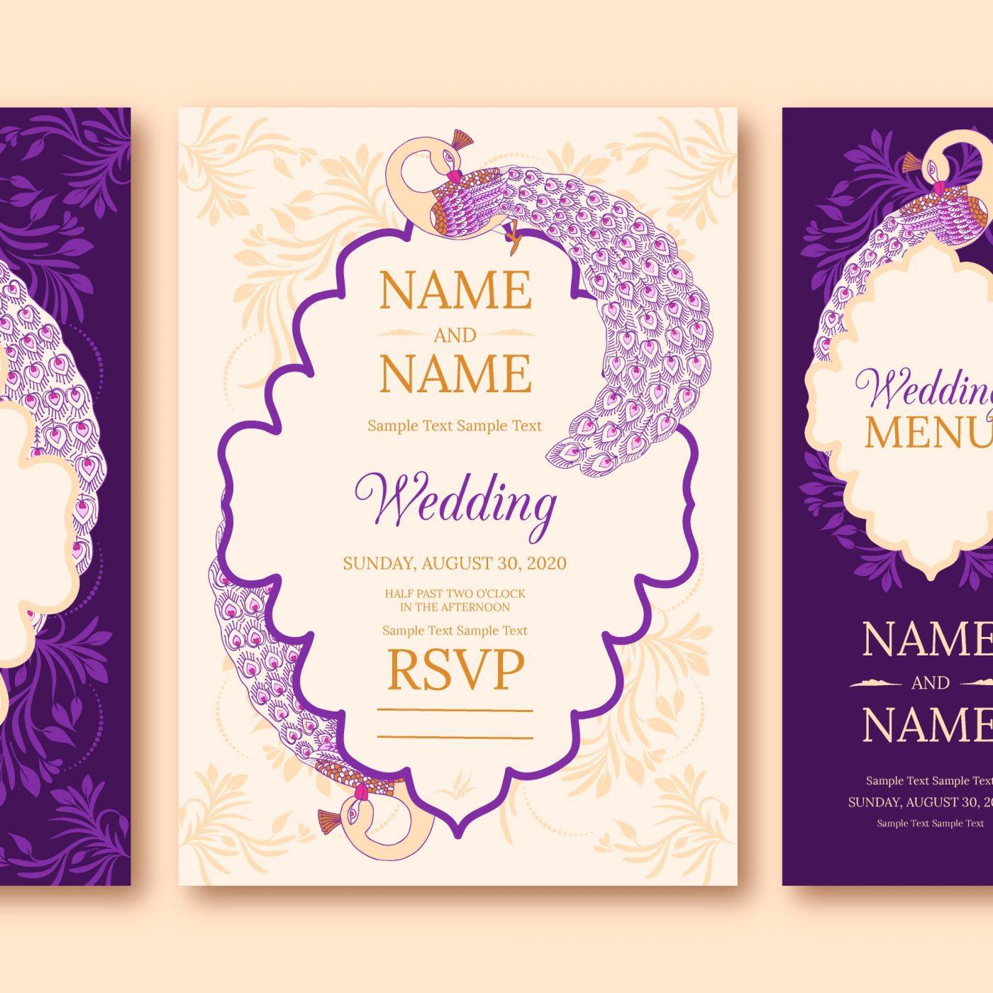 دانلود فایل لایه باز کارت عروسی