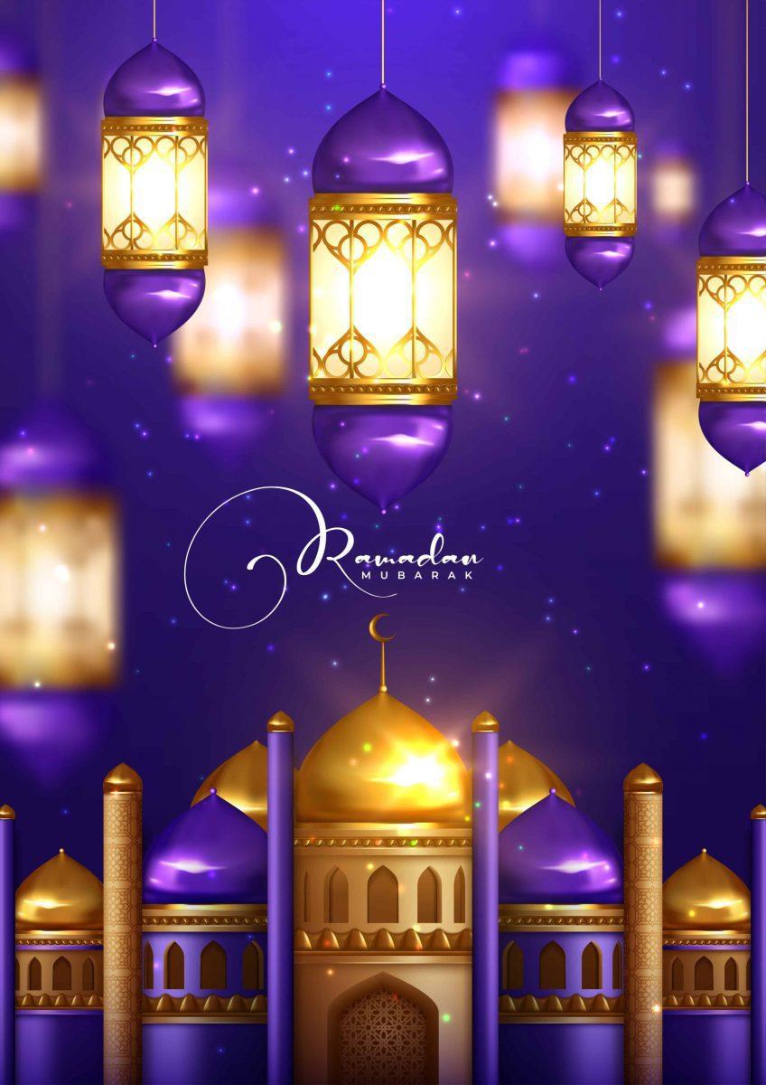 دانلود وکتور ماه مبارک رمضان