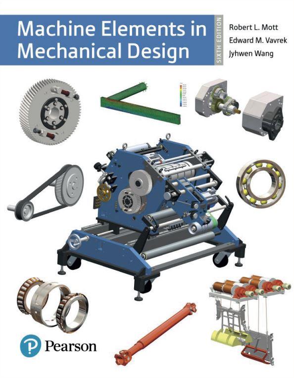 دانلود کتاب عناصر ماشین در طراحی مکانیکی رابرت مات ویرایش 6