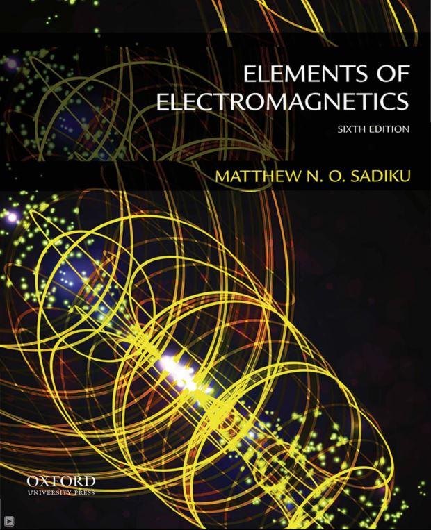 دانلود کتاب اصول الکترومغناطیس متیو سادیکو ویرایش ۶